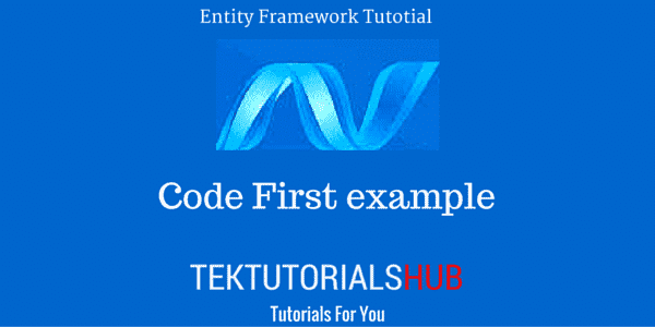 Code First Getting Started