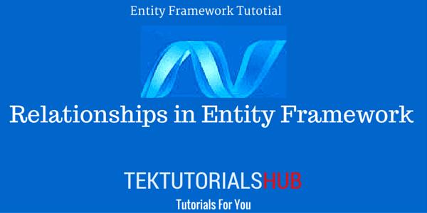 Relationships in Entity Framework