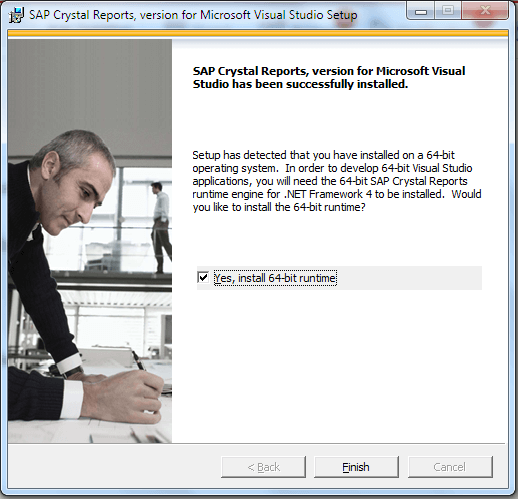 How to install crystal reports for visual studio tektutorialshub
